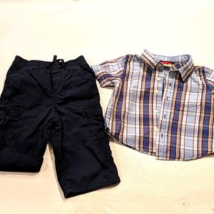 SPROCKETS Boy blue & orange set